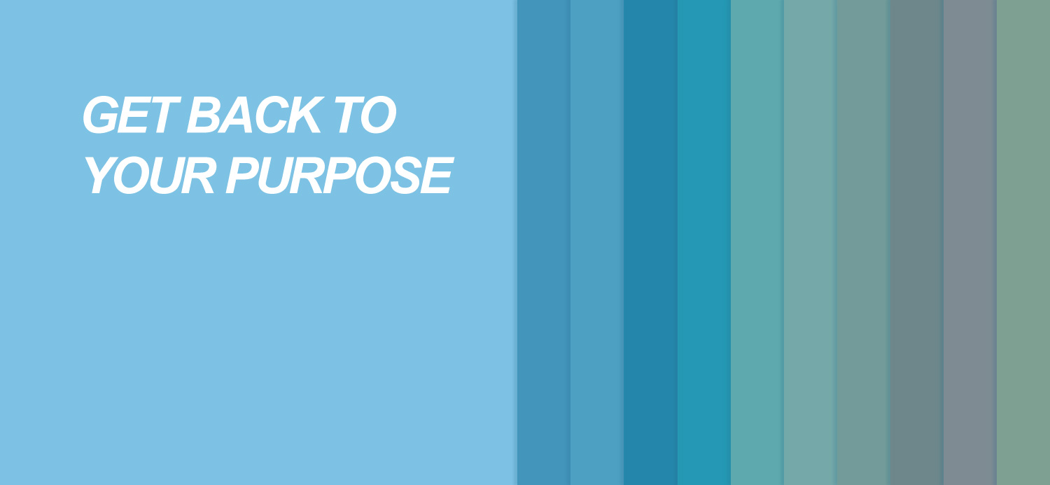 Get Back to Your Purpose
